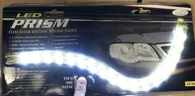 Ring Automotive PN920W Flexi Daytime Styling Lights, Clear
