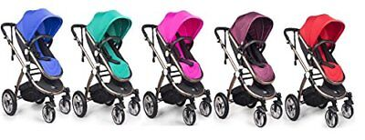 Pink High Quality Baby Stroller IBEIS Prams 2 in 1 for Newborns European Folding Baby Carriage for 0 to 36 Months