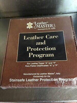 Leather Master Care and Protection Program Dr. Tork Types A and P