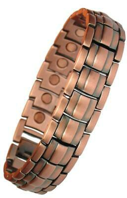 MPS® Apollo Copper Rich Magnetic Therapy Bracelet + Free Links Removal Tool