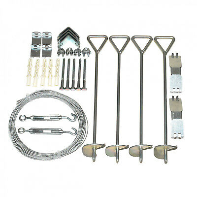 Anchoring Kit for Snap and amp; Grow Greenhouses Drywall Screws Self Drilling