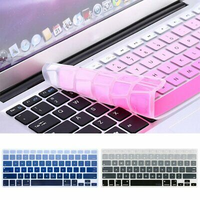 "Keyboard Cover Case Silicone Protector For MacBook Air/Pro 13"" Touchbar UU"
