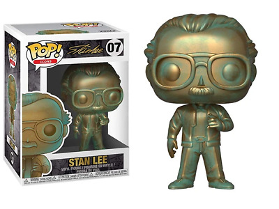 Marvel Stan Lee #07 - Stan Lee (Patina) - Funko Pop! Icons (Brand New)