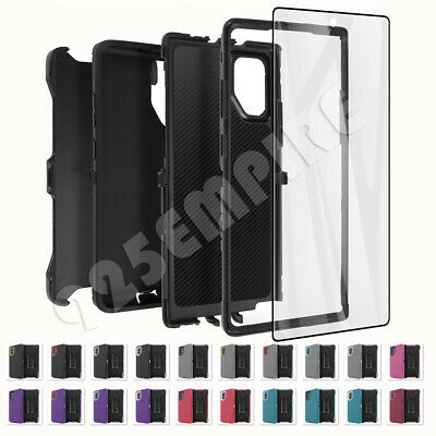 for Samsung Galaxy Note 10/10+Plus Defender Case with Clip (fits Otterbox)