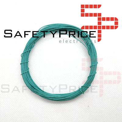 11 metros AWG30 VERDE Cable WRAPPING WIRE COLOR VERDE electronica