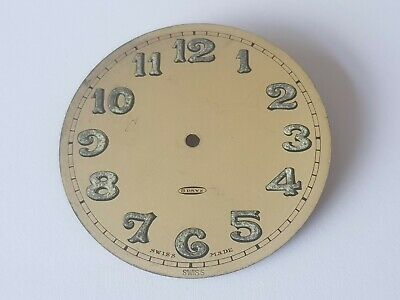 8 Day Clock Dial Swiss Pre Owned 53mm Approx