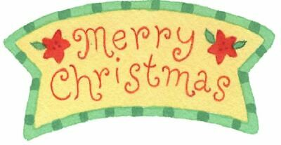 Mini Stickers labels x 65  -  Merry Christmas  -  Envelope Seals, Crafts, cards