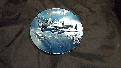 """Royal Worcester, Collectors Wall Plate, Dambusters, """"Goner 68A"""""""