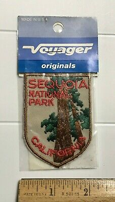 NIP Sequoia National Park California Redwoods Souvenir Embroidered Patch Badge