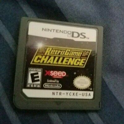 RETRO GAME CHALLENGE Nintendo DS Cart only