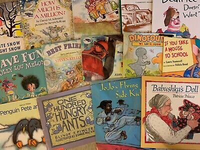 ~CHOOSE YOUR LOT~ KID'S CHILDREN'S PICTURE BOOKS (A-B) $3.00 Ship 4 ALL