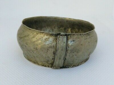 Rare Extremely Ancient Viking Bronze Bracelet Authentic Artifact Very Stunning