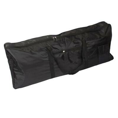 Portable Black 61Key Keyboard Electric Piano Padded Case Gig Bag Advanced Fabric