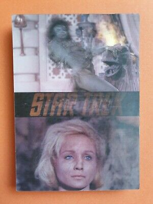 Star Trek In Motion Promo Trading Card Set Ltd to 500 rare complete 1999