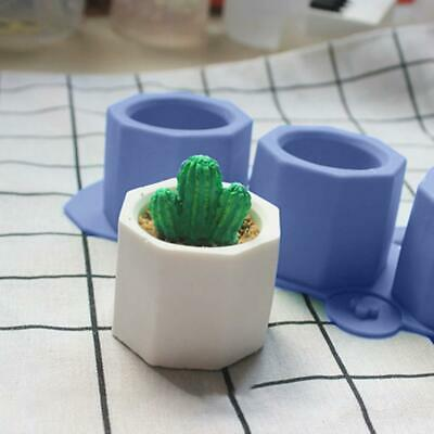 3 In 1 DIY Flowerpot Silicone Mold Cement Pot Making Mold Manual Clay Craft