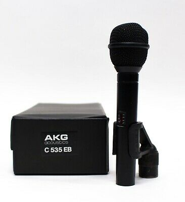AKG C 535 EB Handheld Condenser Microphone with Case and Clip