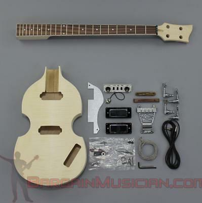 Bargain Musician - BK-006 - DIY Unfinished Project Luthier BASS Guitar Kit