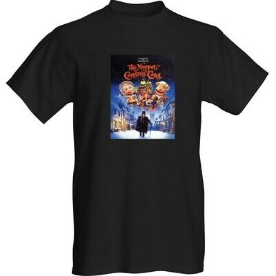THE MUPPETS CHRISTMAS CAROL RETRO  T-Shirt XL FILM FESTIVE CLASSIC