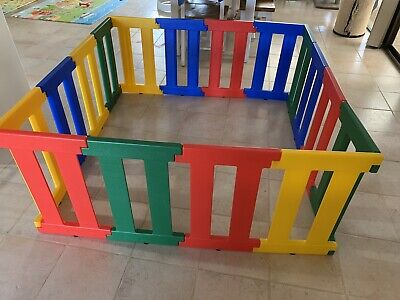 TikkTokk Nanny Panel Playpen with Extensions EXCELLENT CONDITION