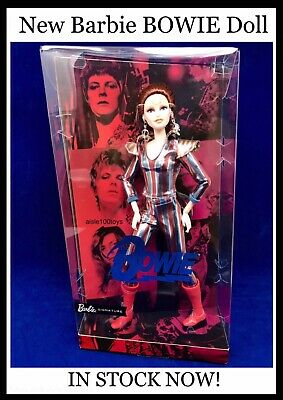 Barbie David BOWIE Ziggy Stardust Doll  2019 Limited Edition In Stock Ships Now!