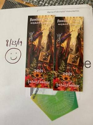 Burning Man Tickets - 2 Legitimate Tickets - and Vehicle Pass - See Pic