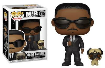 MIB Men In Black #715 - Agent J & Frank - Funko Pop! Movies (Brand New)