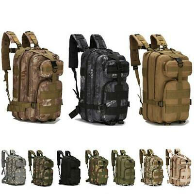 Hiking Camping Bag Army Military Tactical Trekking Rucksack Backpack Camo Large