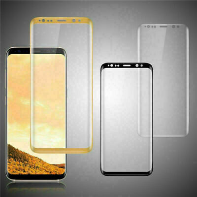 Tempered Glass 9H Cover Screen Protector For Samsung Galaxy S8 Plus S7
