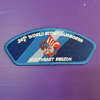 24th World Scout Jamboree 2019 USA Contingent PATCH / NORTHEAST REGION badge