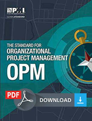 The Standard for Organizational Project Management OPM - First Edition PMI PDF