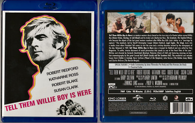 Tell Them Willie Boy is Here (BluRay) Robert Redford Katharine Ross Robert Blake