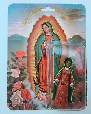 VIRGENCITA DE GUADALUPE ROSE VERSION VINYL FIGURE SUPER EMO FRIENDS JSALVADOR