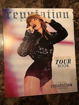 BRAND NEW reputation Stadium Tour Program Book - Taylor Swift Official SOLD OUT