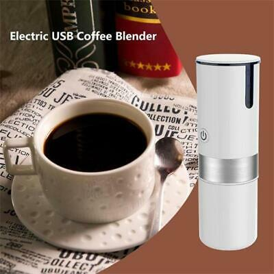 Portable Coffee Maker Espresso Machine Handheld Electric USB Coffee Blender Cup#