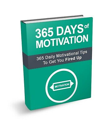 365 Days of Motivation eBook PDF with Full Master Resell Rights