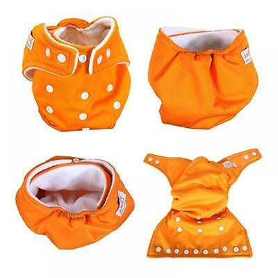 Reusable Baby Infant Nappy Cloth Diapers Soft Covers Washable Size Adjustable CN