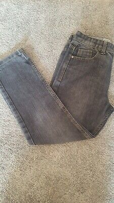 Boys Faded Effect Black Jeans  Age 10-11