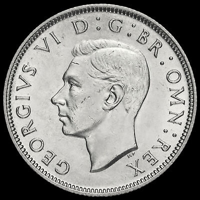 1946 George VI Silver Two Shilling Coin / Florin