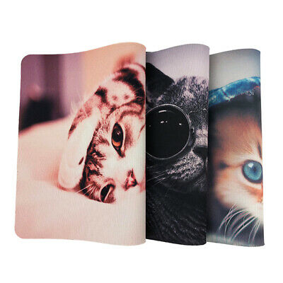 Universal Computer Mouse Pad Mice Mat Anti-slip Cute Cat For Laptop PC