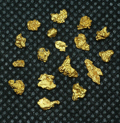High Purity Natural Western Australia GOLD NUGGETS 2.46 grams