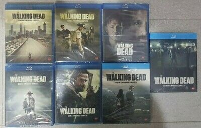Pelicula Bluray Serie Tv Pack The Walking Dead Temporadas 1 A 7 Precintadas
