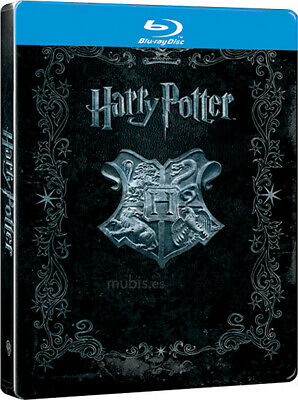 Pelicula Bluray Metalica Pack Saga Harry Potter (8 Peliculas) Precintadas