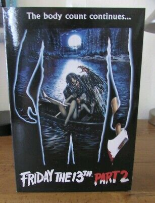 """NECA Friday The 13th Part 2 Ultimate Jason Voorhees 7″ Figure """"NO CAMPFIRE"""""""
