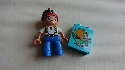 Lego Disney Jake and The Neverland Pirates Figure And Sully Brick toy set