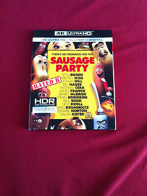 Sausage Party (4K Ultra HD-Bluray) comme neuf