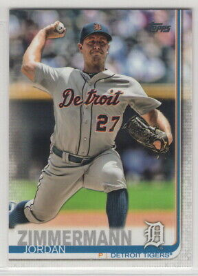 2019 Topps Baseball Detroit Tigers Team Set Series 1 and 2