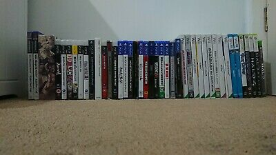 Collection Of 45 Video Games (PS3,4, Wii, U, Xbox 360) RARE Klonoa, Halo, .hack