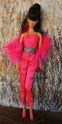 BARBIE GLAM LIFE FASHIONS Pantsuit and Accessories