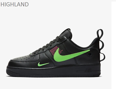 NIKE AIR FORCE 1 LV8 Ul Schwarz Hyper Pink Scream Grün