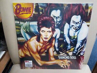 DAVID BOWIE - DIAMOND DOGS  LP 2019 RED VINYL limited edition 45th anniversary